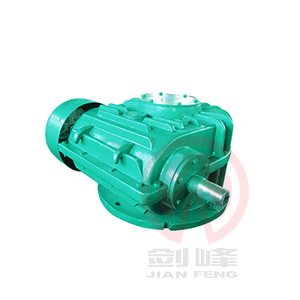 WHC120-500型圆弧齿圆柱蜗杆减速机
