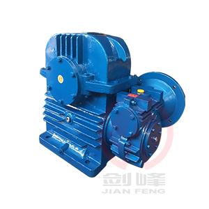 天津CCWU100-500型圆弧圆柱双级蜗杆减速机
