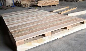 胶合板硬木墩托盘