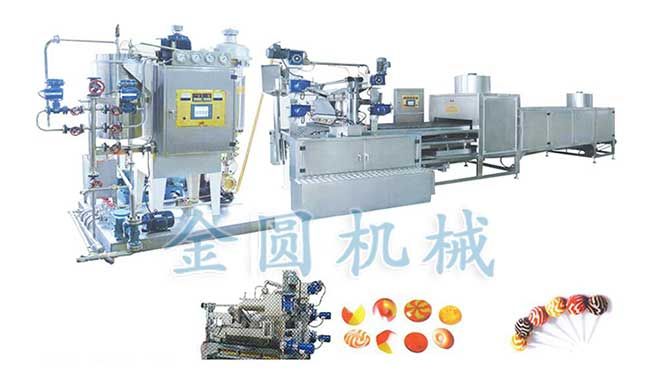全自动硬糖生产线