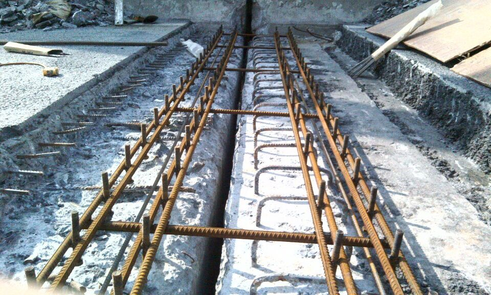 桥梁伸缩缝安装