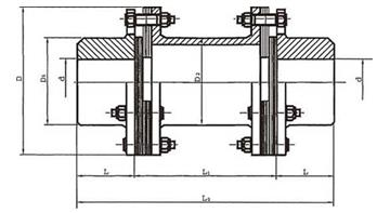 JZMJ型膜片联轴器