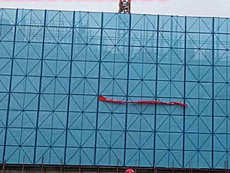 安全防护爬架网
