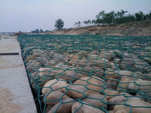 包塑绿格网