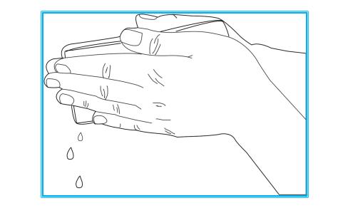 手掌式按摩电极垫