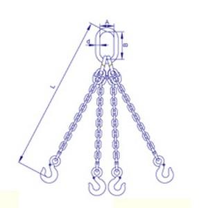 四腿鏈條索具