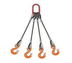四腿壓制鋼絲繩索具