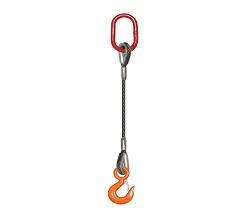 單腿壓制鋼絲繩索具