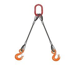 雙腿壓制鋼絲繩索具