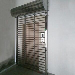 您应该选择石家庄不锈钢卷闸门提高企业安全性!