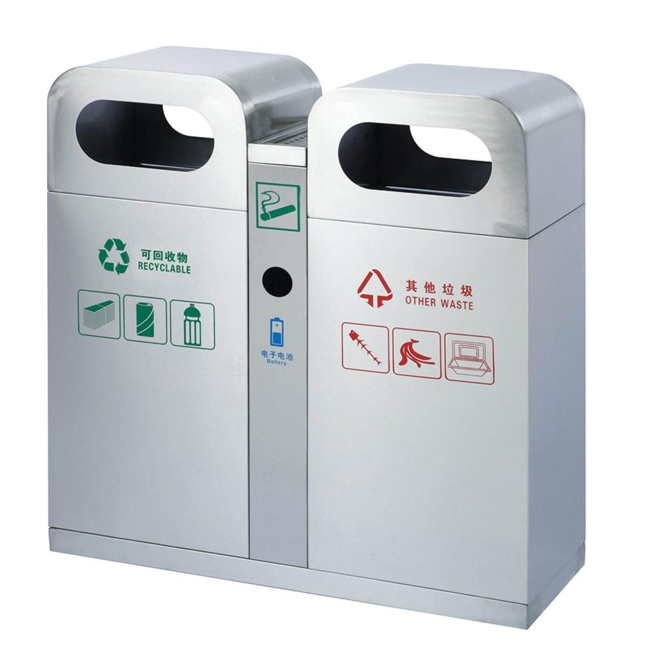 加工不锈钢垃圾桶