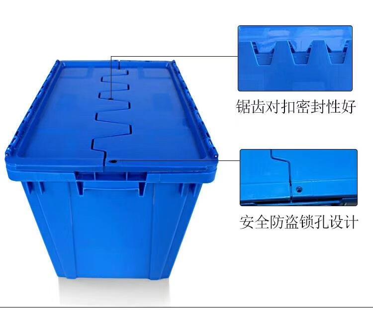 周转箱,也称为物流箱,广泛用于机械、汽车、家电、轻工、电子等行业,能耐酸耐碱、耐油污,无毒无味,可用于盛放食品等,清洁方便,零件周转便捷、堆放整齐,便于管理。其合理的设计,优良的品质,适用于工厂物流中的运输、配送、储存、流通加工等环节。周转箱可与多种物流容器和工位器具配合,用于各类仓库、生产现场等多种场合,在物流管理越来越被广大企业重视的今天,周转箱帮助完成物流容器的通用化、一体化管理,是生产及流通企业进行现代化物流管理的必备品。