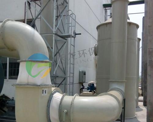 化工行业喷淋净化设备