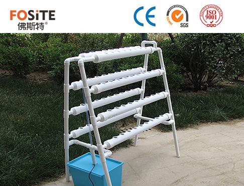 PVC75mm管無土栽培管架