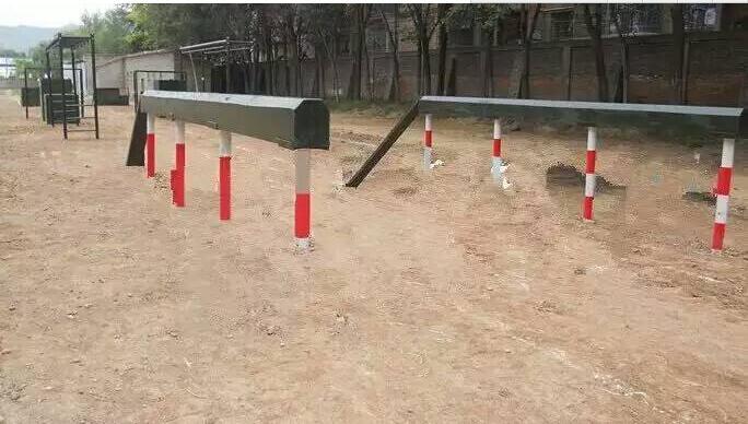 部队训练300米障碍器材独木桥,渡海登岛400米,警犬训练器材