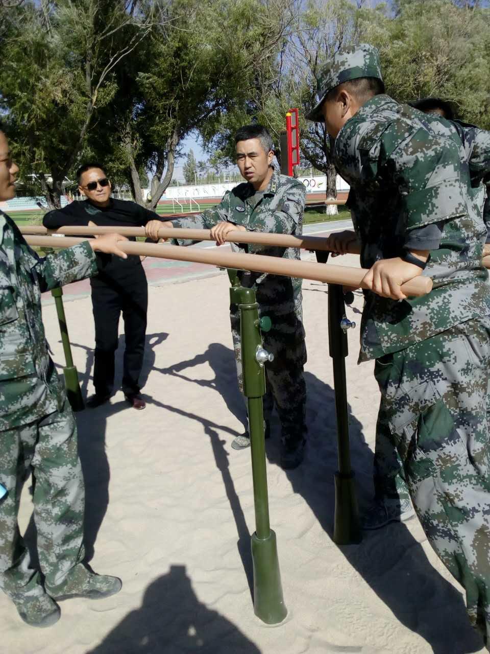 军用单双杠,部队训练器材,400米障碍