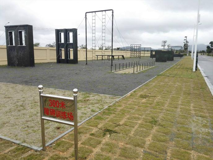 部队训练300米障碍器材水悬梯,公安特警五项训练器材300米障碍器材,特警五项,渡海登岛400米