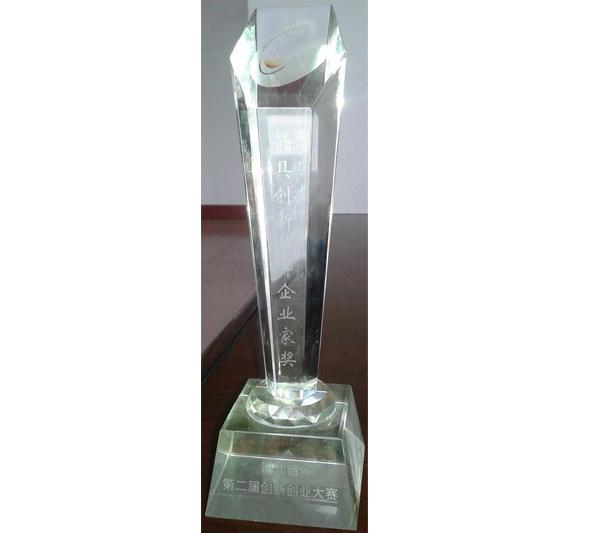 河北省第二届创新创业大赛 创新企业家奖